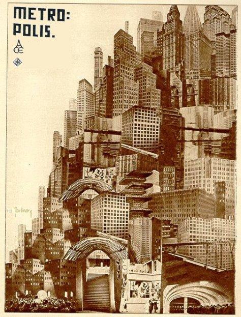 Metropolis, Boris Bilinsky, 1927