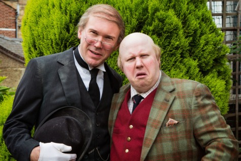 Matt Lucas and Alex MacQueen in Pompidou