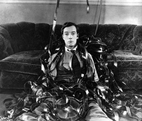 Buster Keaton in Sherlock Jr