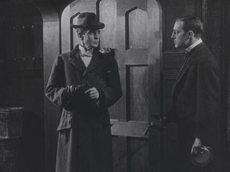 Sherlock Holmes (1916). Cinémathèque française, Paris