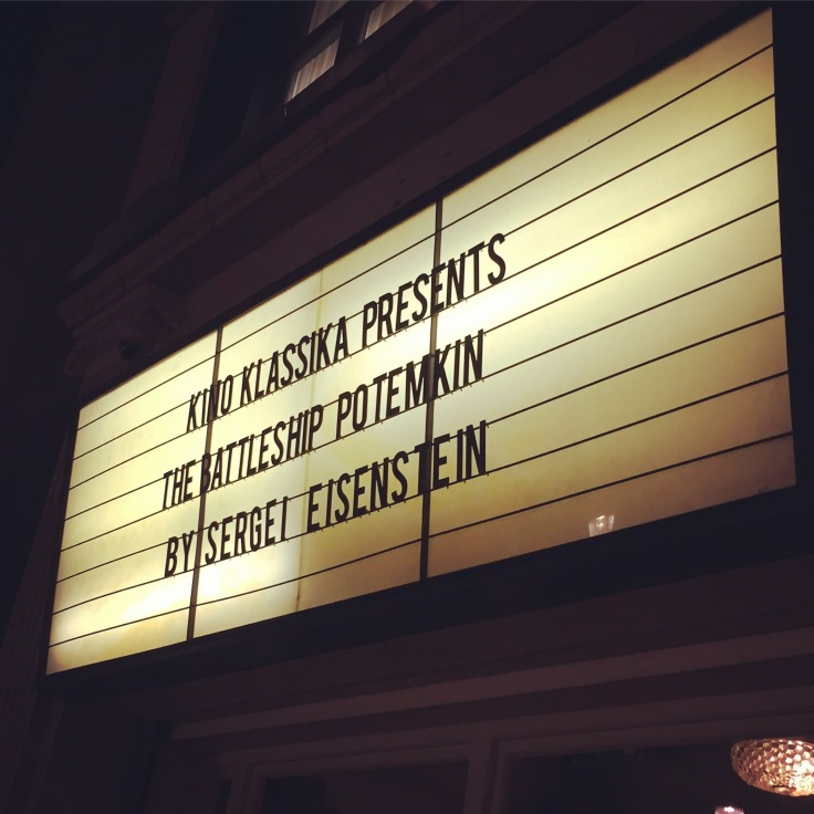 Battleship Potemkin at the Electric Cinema, Notting Hill