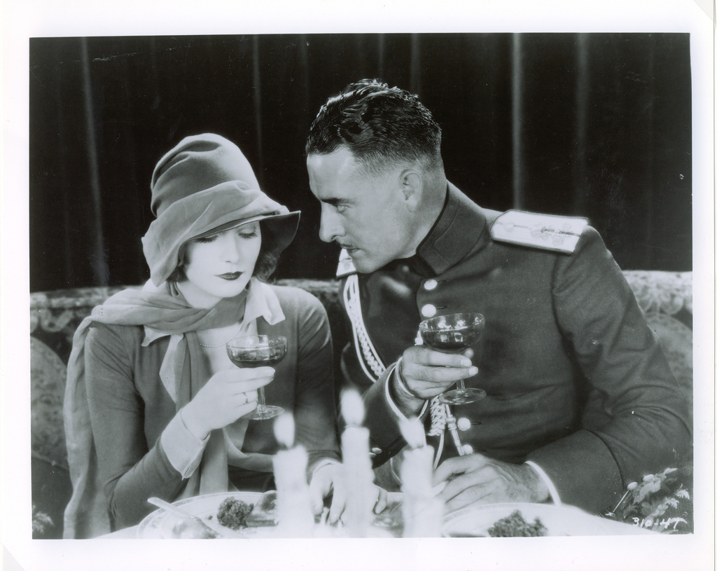 Greta Garbo and John Gilbert in Love (1927)