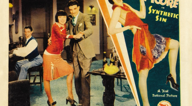 Synthetic Sin (1929): Colleen Moore and the joyful noise of the Jazz Age