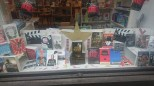 A prize-winning shop window display – the local bookshop had plenty of reading material for silent cinema enthusiasts. Photograph: Nicky Smith