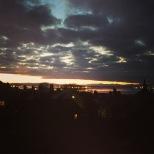 Beautiful Bo'ness sunset