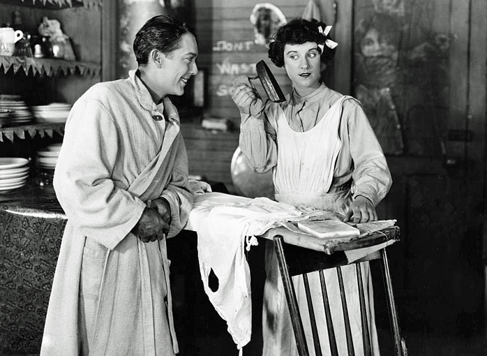 Jack Pickford and Beatrice Lillie in Exit Smiling, 1926