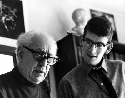 Abel Gance and Kevin Brownlow in 1967