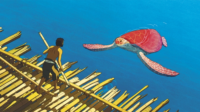 The Red Turtle review: the silence of an enchanted island