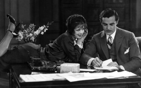 Clara Bow and Antonio Moreno in It (1927)
