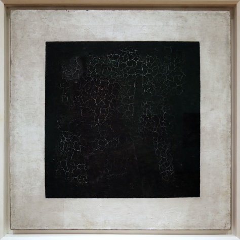 Malevich - Black Square (1915). Photo © www.foxtrotfilms.com