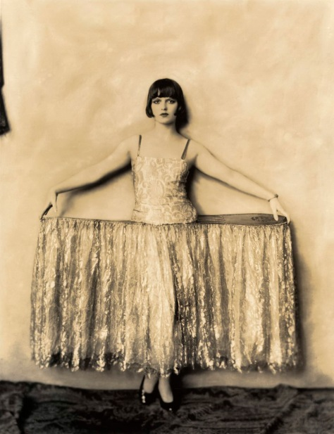 Louise Brooks in costume for the George White Scandals, 1924. Photograph: Alfred Cheney Johnston