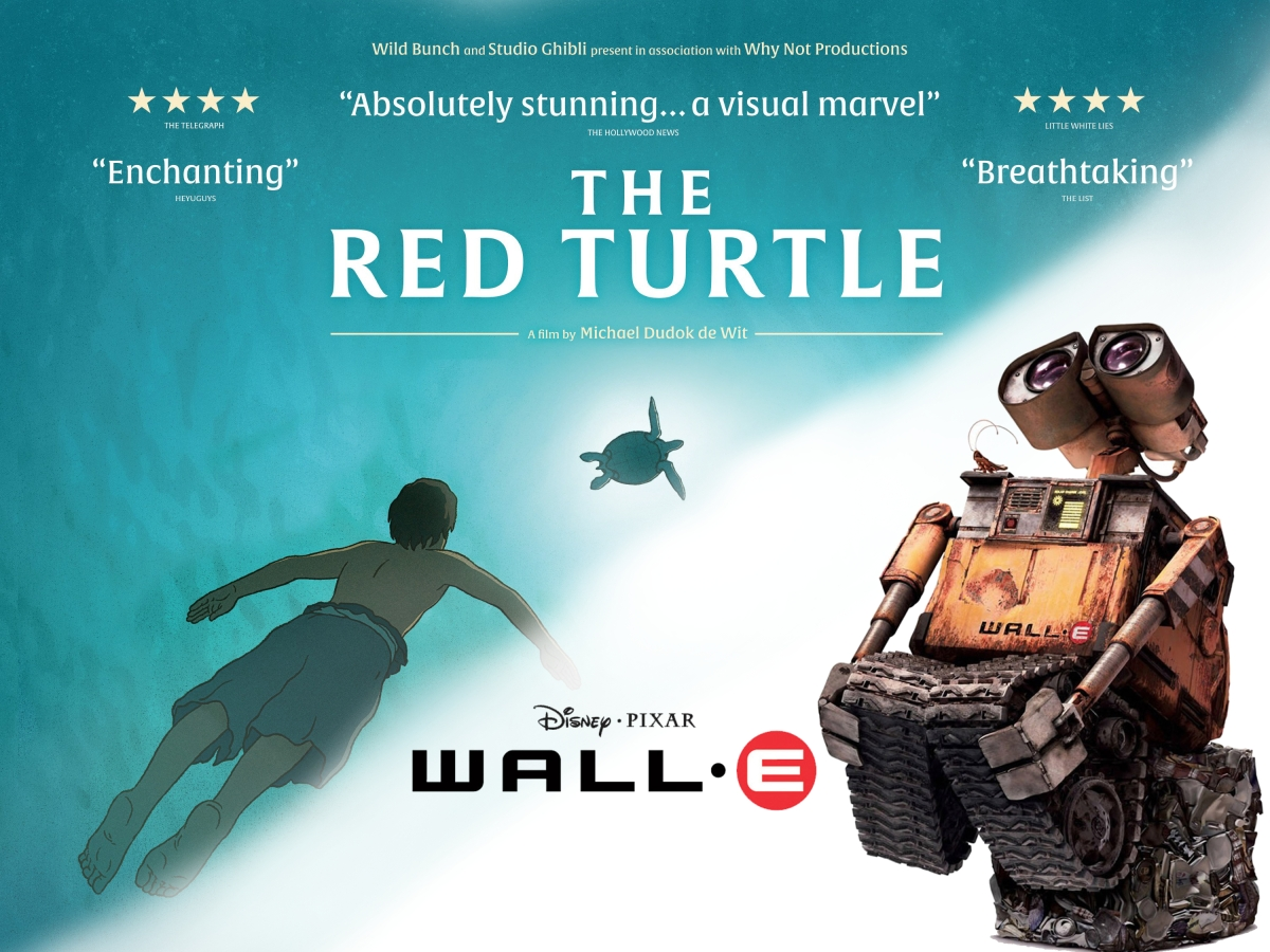 Sound Barrier The Red Turtle Wall E 2008 Silent London