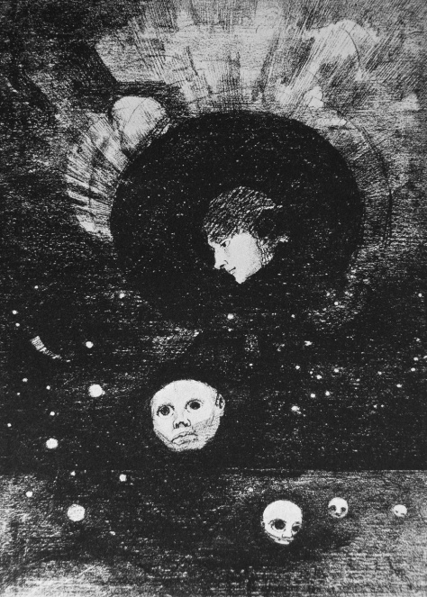 Germination (Odilon Redon, 1879)