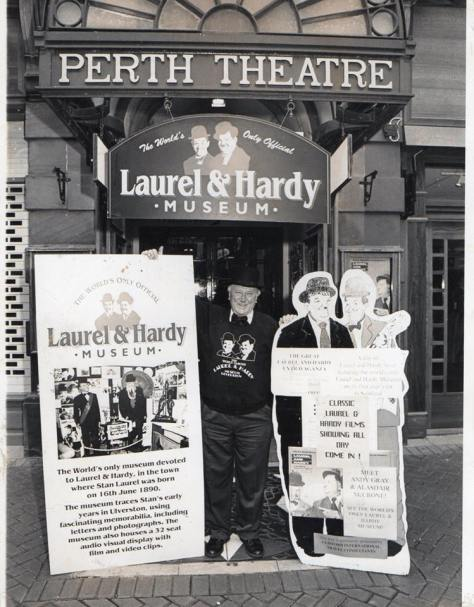 The Laurel and Hardy Museum at its original location in Ulverston