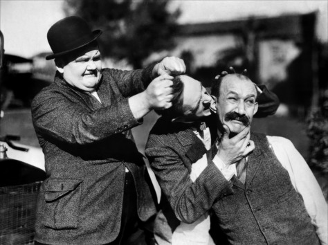 Laurel and Hardy in Big Business (1929)