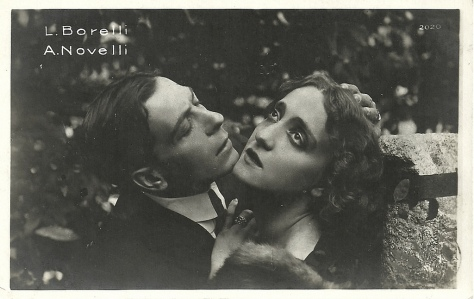Lyda Borelli and Amleto Novelli in Malombra (1917)