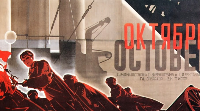 'Rhythm, rhythm and pure rhythm above all': How Edmund Meisel scored Eisenstein's October