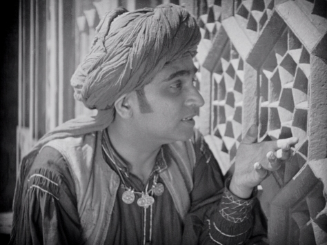 Himansu Rai (Shiraz) in Shiraz: A Romance of India (1928, BFI National Archive)
