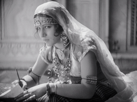 Seeta Devi (Dalia) in Shiraz: A Romance of India (1928, BFI National Archive)