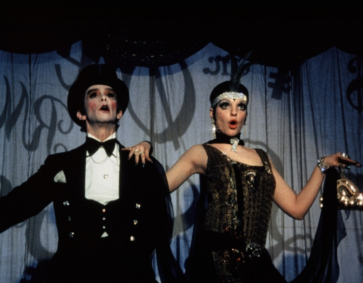 Joel Grey and Liza Minnelli in Cabaret (1971)