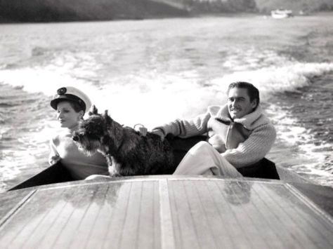 Lili Damita and Errol Flynn