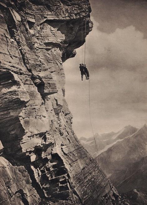 DER KAMPF UMS MATTERHORN (La grande conquista/The Fight for the Matterhorn) (DE 1928) di Mario Bonnard, Nunzio Malasomma Credits: Coll. Marcello Seregni