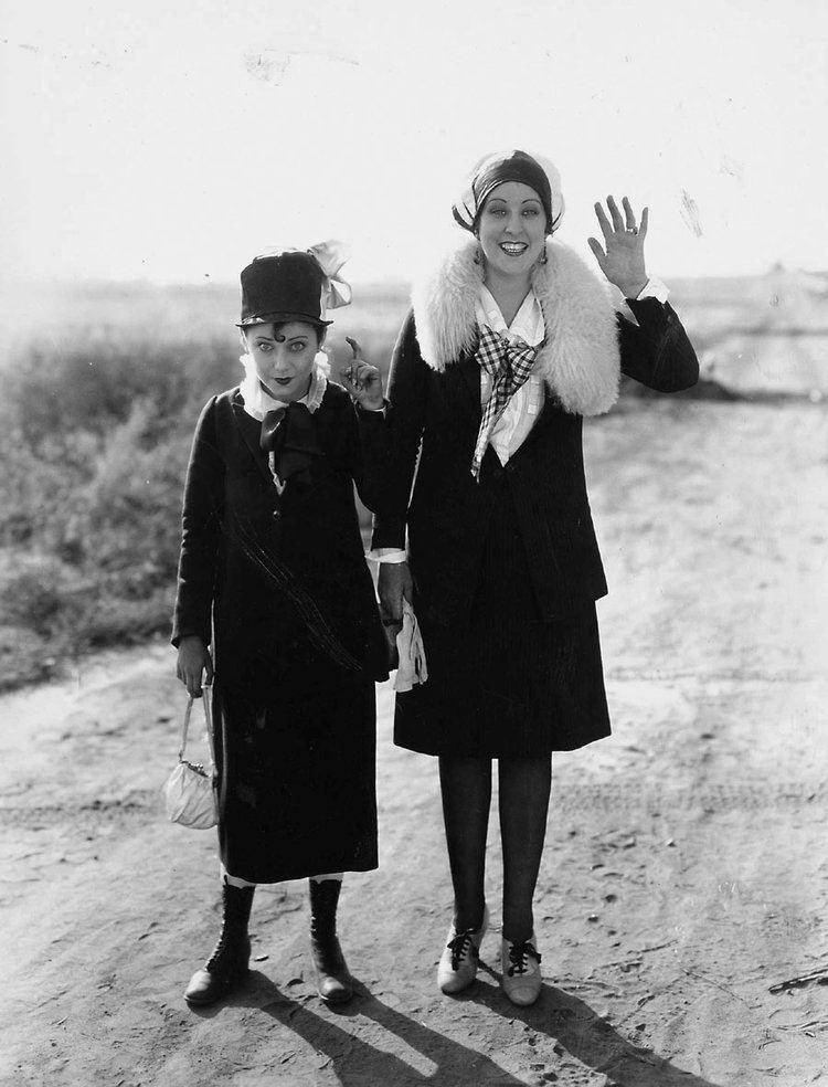 Marion Byron & Anita Garvin