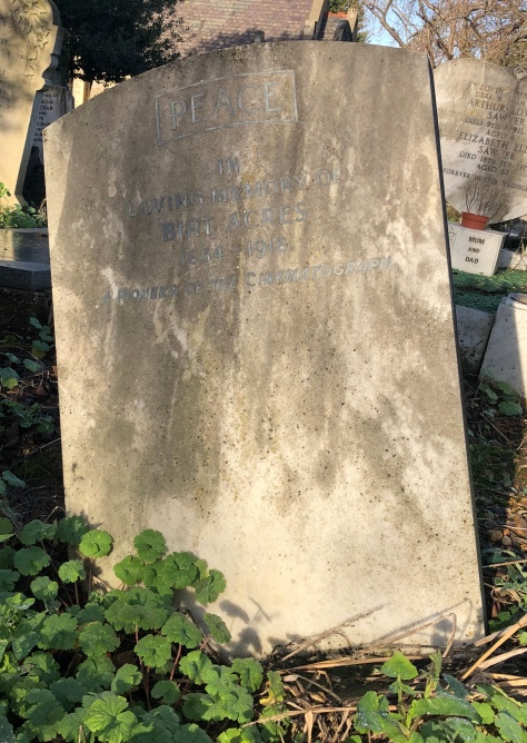 Birt Acres's grave in Walthamstow, east London