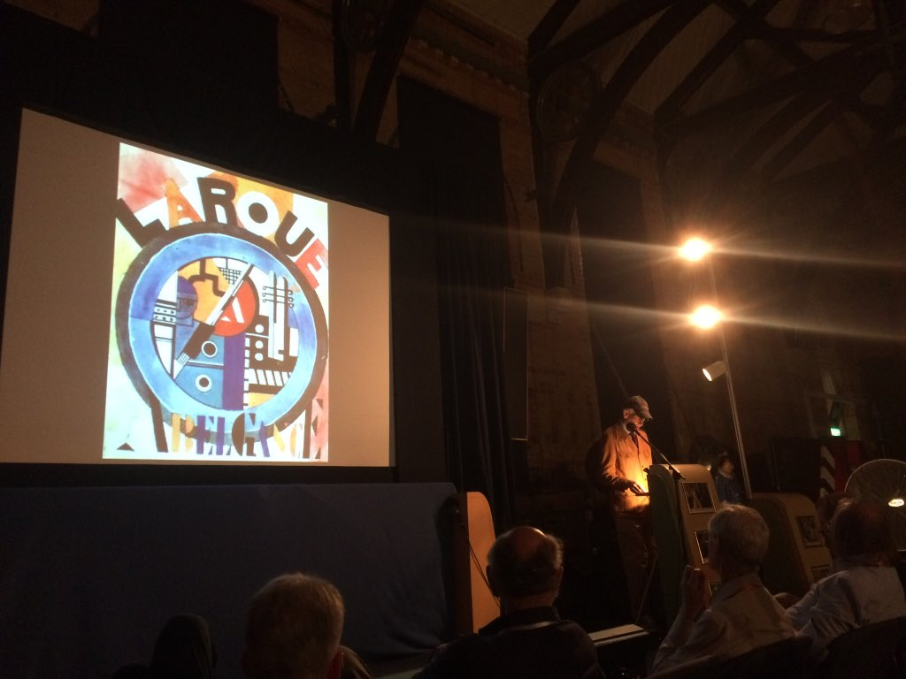 Kevin Brownlow introduces La Roue at the Kennington Bioscope in the Cinema Museum