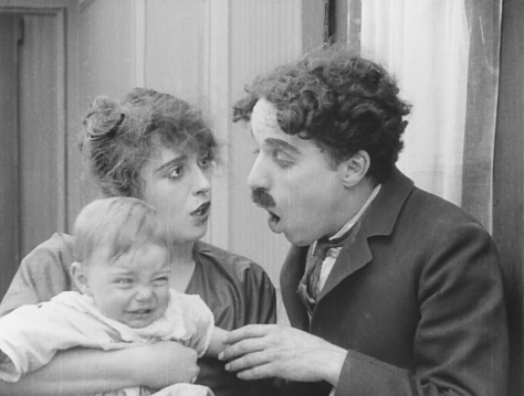 Mabel Normand with Charlie Chaplin