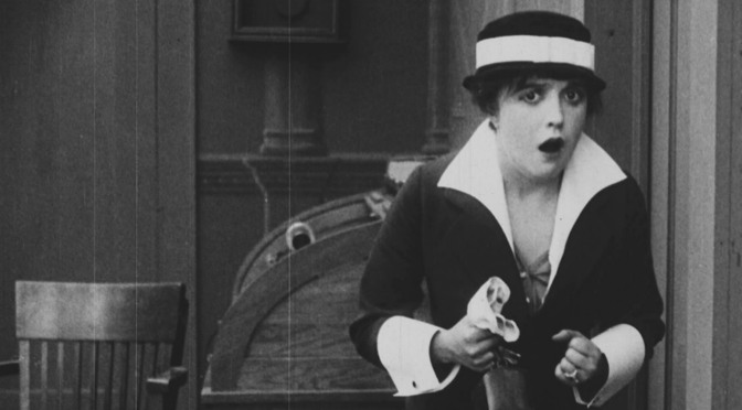 Mabel Normand: 'a kiss that explodes in a laugh'