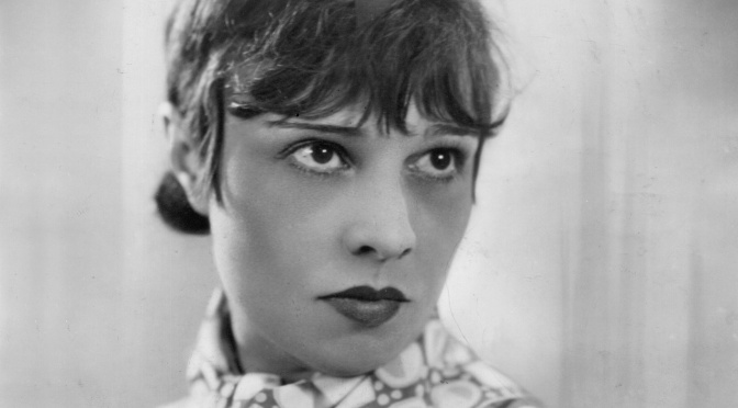 Anita Loos: silent era 'soubrette of satire'