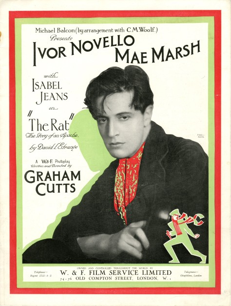 Poster for The Rat (1925) Courtesy of The Bill Douglas Cinema Museum, University of Exeter