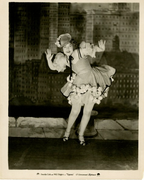 Dorothy Gish in Tiptoes (1927) Courtesy of The Bill Douglas Cinema Museum, University of Exeter