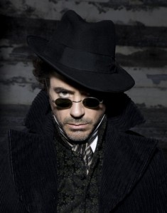 Robert Downey Jr as Sherlock Holmes