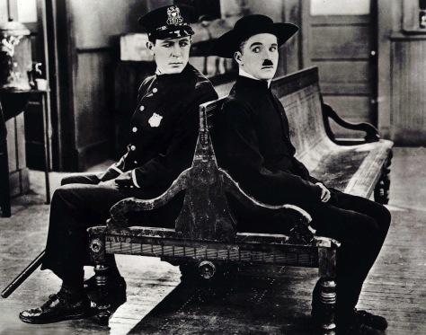 Charlie Chaplin in The Pilgrim (1923)