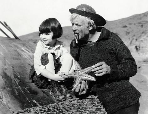 Baby Peggy and Hobart Bosworth in Captain January (1924)