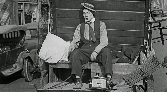 Hollywood history: Chaplin-Keaton-Lloyd Alley